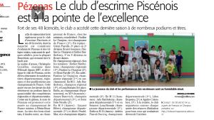 PEZENAS Article Midi Libre 03 juillet 2019
